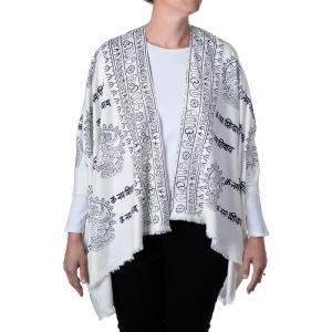 Dancing Shiva Kimono - White