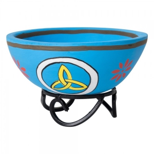 SMUDGE BOWL - Triquetra with Stand