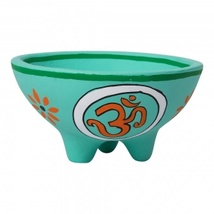 Clay Om Smudge Bowl 13.5cm X 7cm
