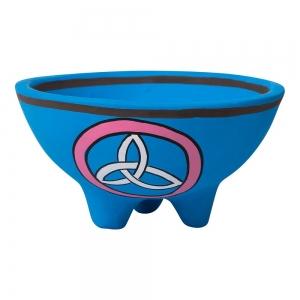 Clay Triquetra Smudge Bowl 13.5cm X 7cm