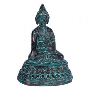 BRASS STATUE - Antique Buddha 10cm