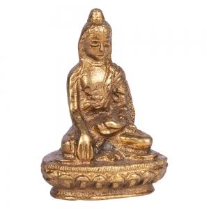BRASS STATUE - Buddha 5cm