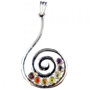 PENDANT - Chakra Spiral