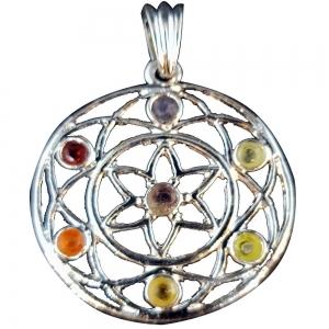 PENDANT - Chakra Flower Lotus Pendant