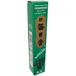 Morning Star - Cedarwood 50 Bambooless Incense Sticks with Holder