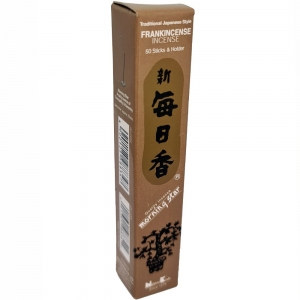 Morning Star - Frankincense 50 Bambooless Incense Sticks with Holder