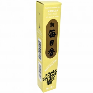 Morning Star - Vanilla 50 Bambooless Incense Sticks with Holder