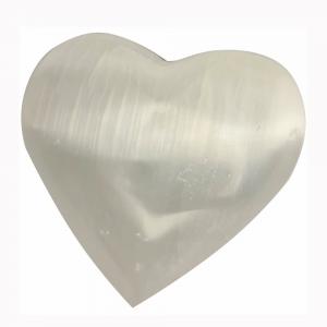 SELENITE - Heart White 5cm