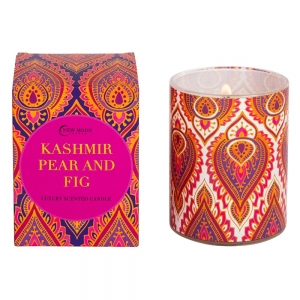 CANDLE - NEW MOON Kashmir Pear and Fig 220g
