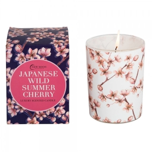 CANDLE - NEW MOON Japanese Wild Summer Cherry 220g