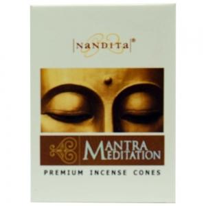 Nandita Mantra Meditation Cones