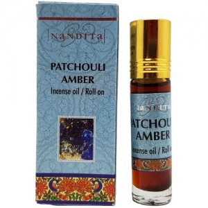 Nandita Patchouli Amber Perfume Oil 8ml