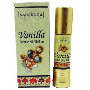 Nandita Vanilla Perfume Oil 8ml