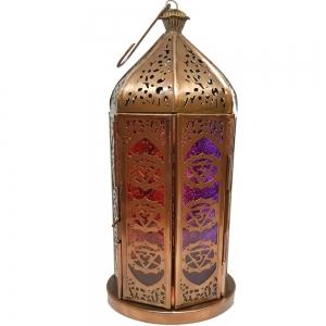 LANTERN - 30cm 7 Chakra Copper