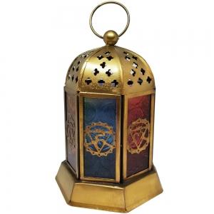 7 Chakra Lantern 13cm
