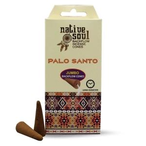 Native Soul Backflow Cones - Palo Santo