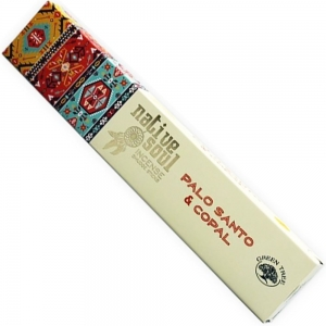 Native Soul 15gms - Copal and Palo Santo Incense