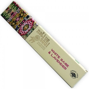 Native Soul 15gms - White Sage and Lavender Incense