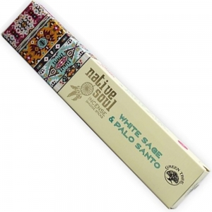 Native Soul 15gms - White Sage and Palo Santo Incense