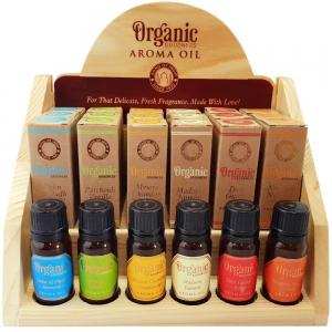 Organic Goodness Aroma Oil Display (18pcs + 6 testers)