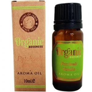 Organic Goodness Aroma Oil 10ml - Patchouli Vanilla