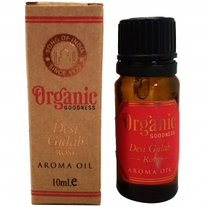 Organic Goodness Aroma Oil 10ml - Rose