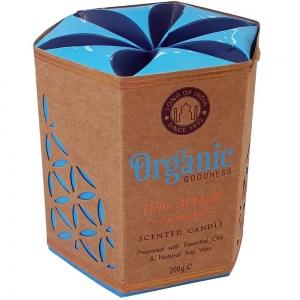 Organic Goodness Soy Candle 200gms Agarwood