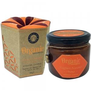 Organic Goodness Soy Candle 200gms Orange