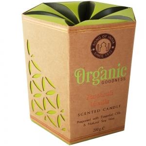 Organic Goodness Soy Candle 200gms Patchouli Vanilla