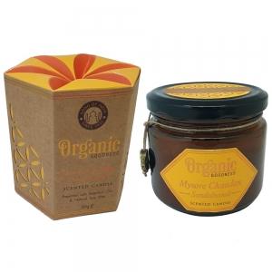 Organic Goodness Soy Candle 200gms Sandalwood