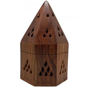 Octagon Pyramid Cone Incense Burner