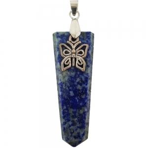 PENDANT - Charm  Lapiz Lazuli Butterfly
