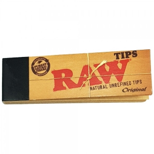 Raw Tips 17mm x 58mm - 50 Tips