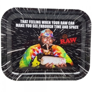 Raw Oops Rolling Tray Medium - 34cm x 28cm