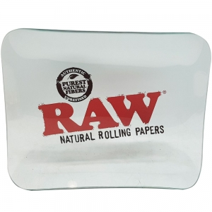 Raw Glass Rolling Tray - 27c x 33cm