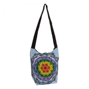 SHOULDER BAG - Chakra Flower of Life