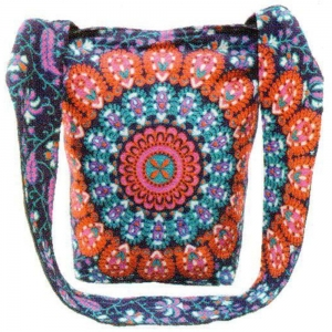 SHOULDER BAG - Mandala Purple