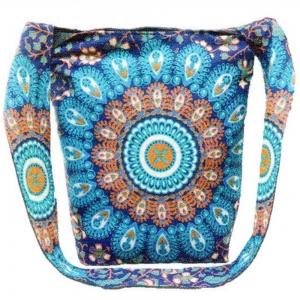 SHOULDER BAG - Mandala Blue