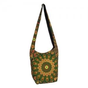 SHOULDER BAG - Peacock Green