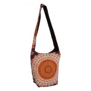 SHOULDER BAG - Peacock Orange