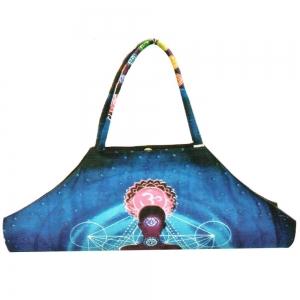 YOGA SHOULDER BAG - Chakra Meditation Blue