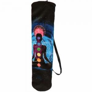 YOGA BOLSTER BAG - Chakra Meditation Turquoise