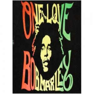 TAPESTRY - Bob Marley Black Multi 140 X 210cm