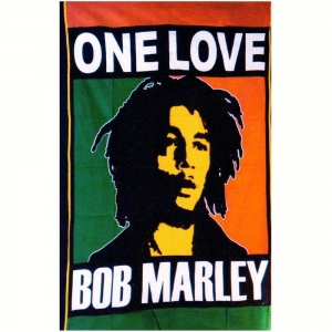 TAPESTRY - Bob Marley One Love 140 X 210cm