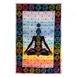 TAPESRY - Chakra Print Hand Brush 140cm x 210cm