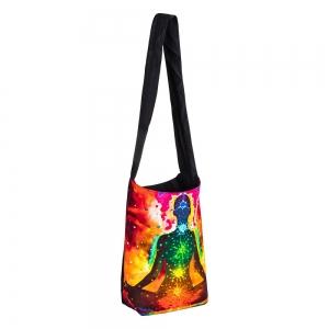 SHOULDER BAG - Cotton Chakra Print
