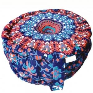 PUFF CUSHION- Mandala 12x30cm