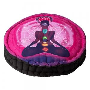 PUFF CUSHION- Meditation Pink 8x45cm