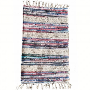 50cm x 80cm - Cotton Stripe Rug