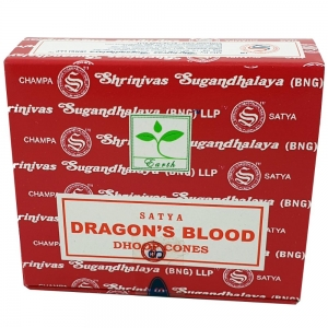 Satya Dragon Blood Incense Cones